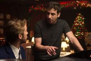 Ryan Gosling with composer Justin Hurwitz.