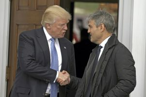 Donald Trump prospective cabinet members at Trump International Golf Club, New Jersey, USA - 20 Nov 2016