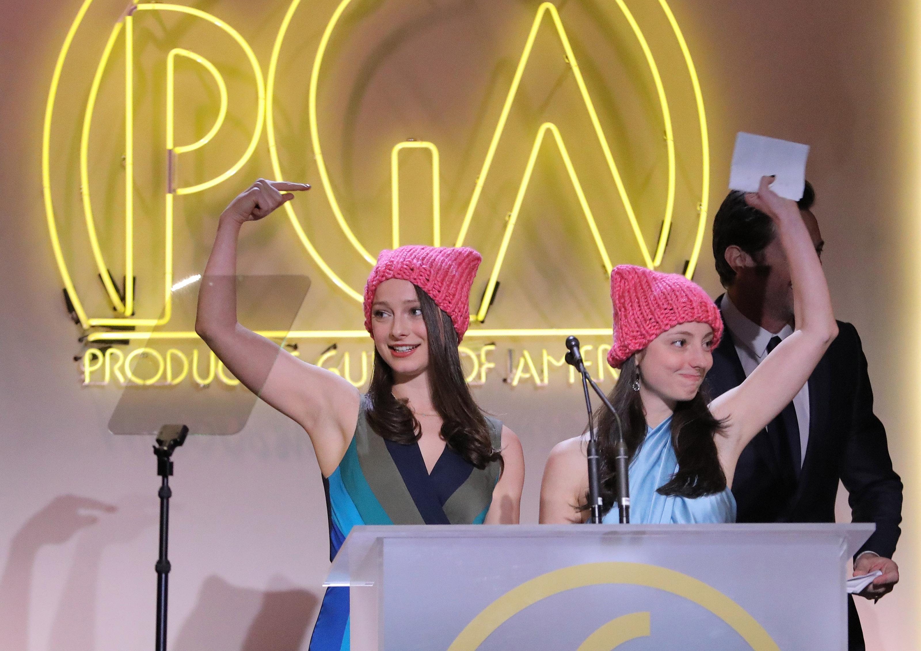 Producers Guild Awards, Inside, Los Angeles, USA - 28 Jan 2017