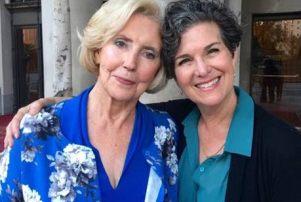 Lily Ledbetter, left, and Rachel Feldman