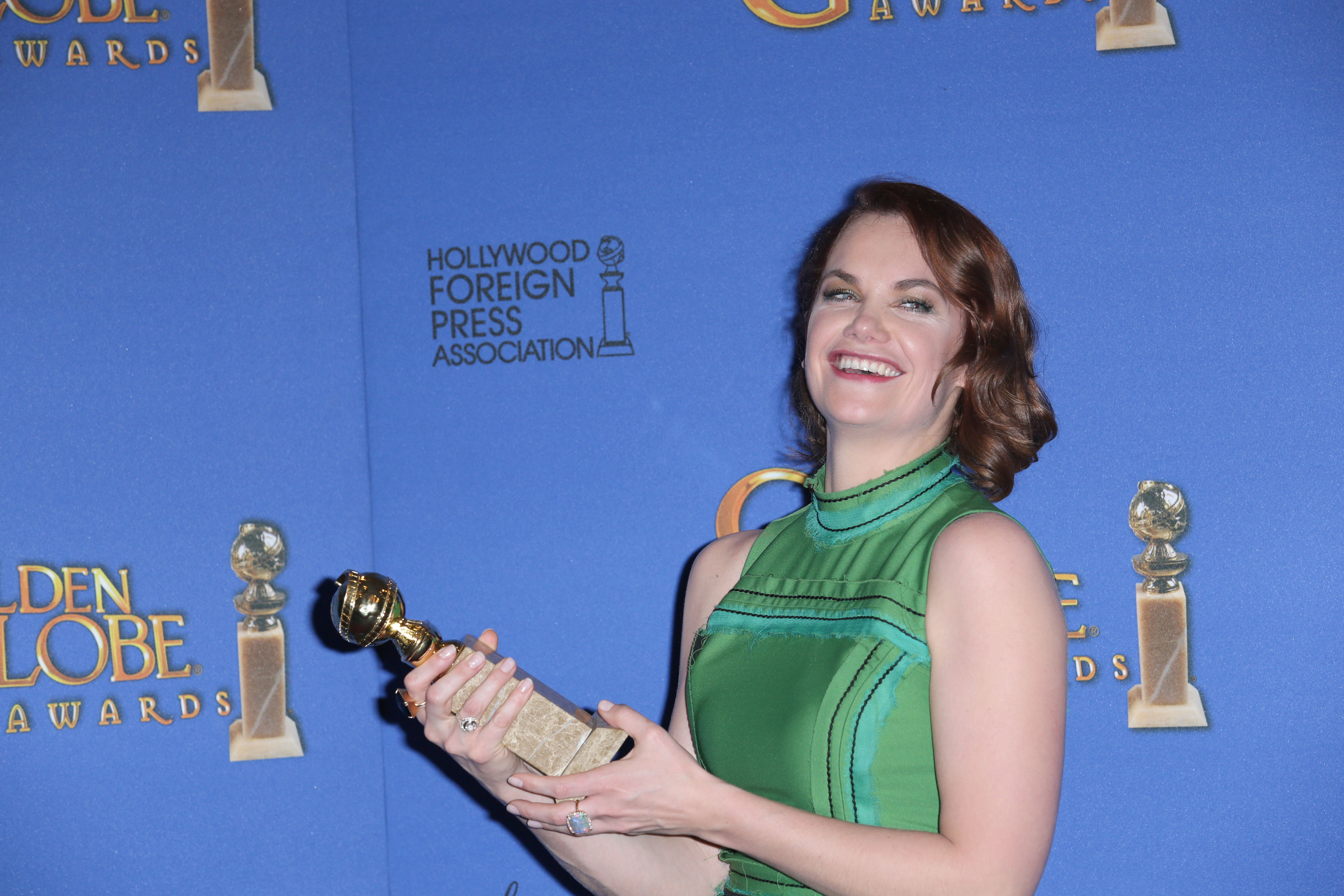 72nd Annual Golden Globe Awards, Press Room, Los Angeles, America - 11 Jan 2015