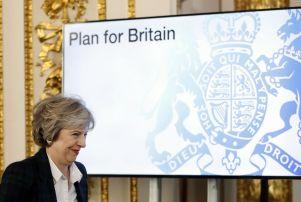 Britain Brexit, London, United Kingdom - 17 Jan 2017