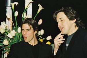 Mandatory Credit: Photo by BEI/BEI/Shutterstock (5135880a) Tom Cruise and Cameron Crowe Cruise Wagner Prods. Jerry Maguire Party March 23, 1997 : Los Angeles, Ca Tom Cruise and Cameron Crowe Cruise Wagner Prods. Jerry Maguire Party Photo®Berliner Studio/BEImages