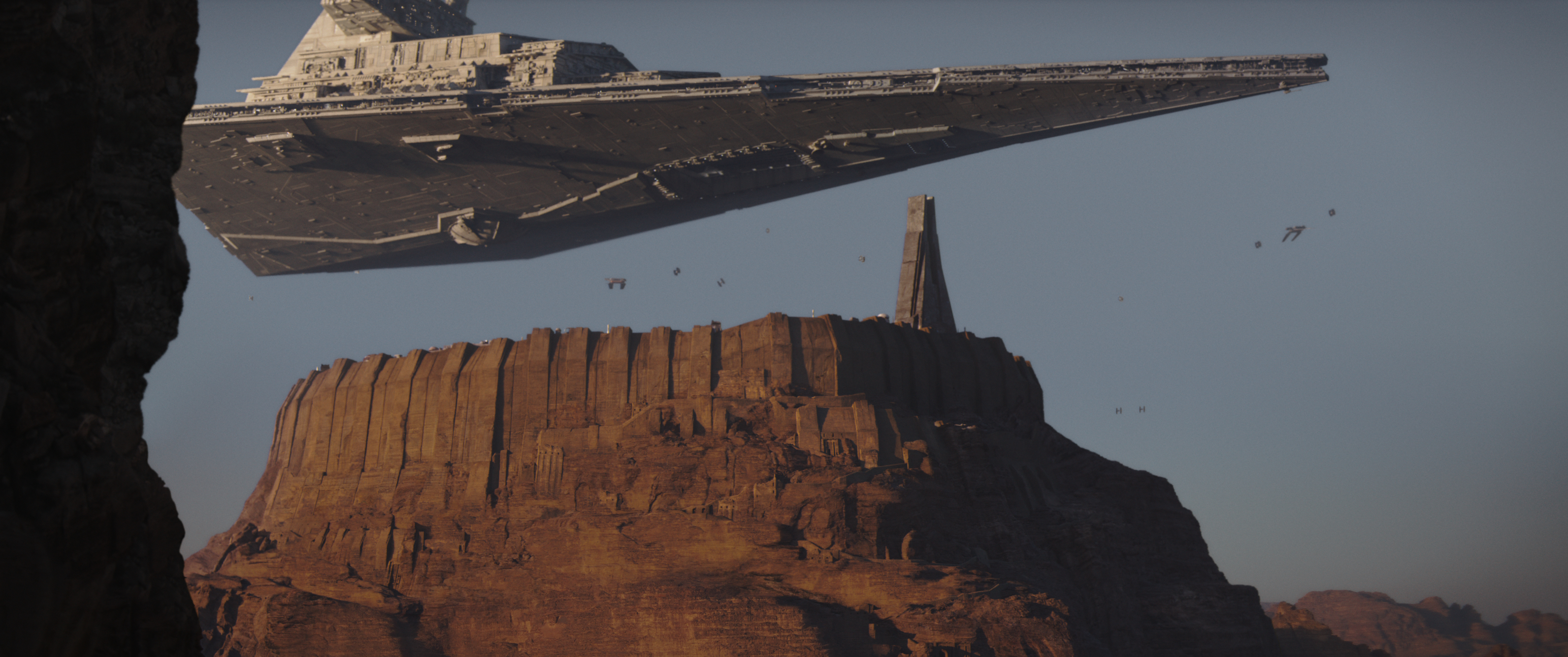 Rogue One: A Star Wars Story Star Destroyer Ph: Film Frame ©2016 Lucasfilm Ltd. All Rights Reserved.