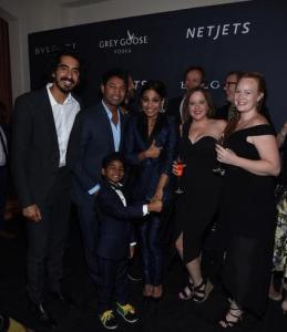 Dev Patel at The Weinstein Company's Pre-Oscar Dinner