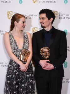 Press Room - 2017 EE British Academy Film Awards, London, United Kingdom - 12 Feb 2017
