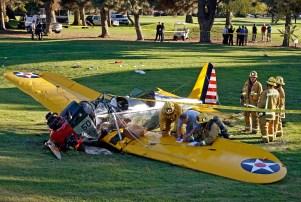 Harrison Ford plane close call