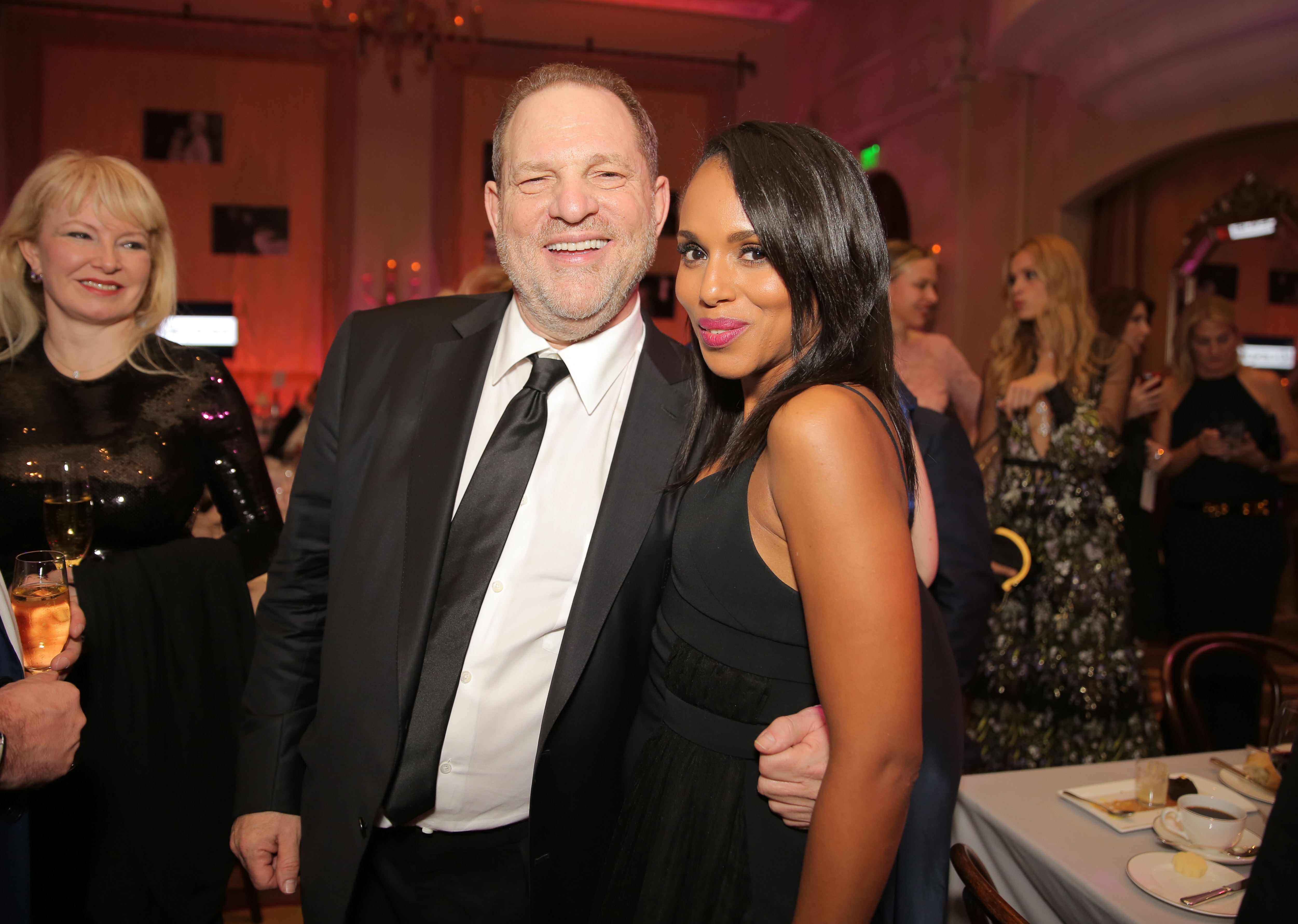The Weinstein Company Pre-Oscar Dinner presented in partnership with Chopard, DeLeon Tequila, FIJI Water, and Lexus at the Montage, Los Angeles, America - 27 Feb 2016