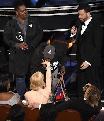 Jimmy Kimmel,Nicole Kidman