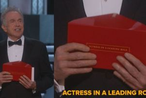 Oscars Wrong Envelope