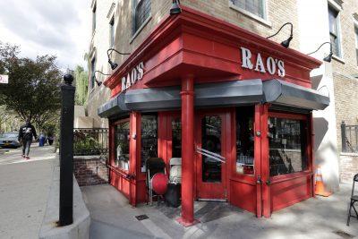 Rao's Restaurant in New York's East Harlem.