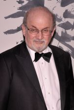 Mandatory Credit: Photo by Efren Landaos/WWD/REX/Shutterstock (7532866l) Salman Rushdie The Berggruen Prize Award Ceremony, New York, USA - 01 Dec 2016