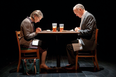 """Annette O'Toole and Reed Birney in """"Man From Nebraska."""""""