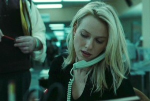 Naomi Watts in 2002's 'The Ring' on a landline phone.