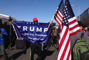 UTA anti-Trump rally