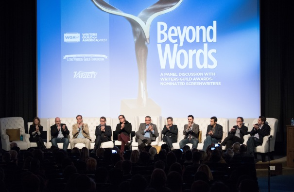 Writers Guild Annual 'Beyond Words' panel event, Los Angeles, America - 04 Feb 2016