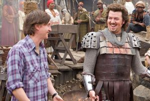 David Gordon Green, left and Danny McBride on the set of 2011's 'Your Highness'