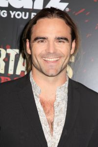 Mandatory Credit: Photo by Gregory Pace/BEI/BEI/Shutterstock (2099045b) Dustin Clare 'Spartacus: War of the Damned', TV series premiere, New York, America - 24 Jan 2013