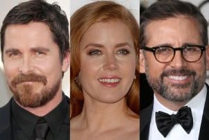 Christian Bale Amy Adams Steve Carell