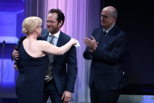 Patricia Arquette Luke Perry GLAAD MEdia Awards