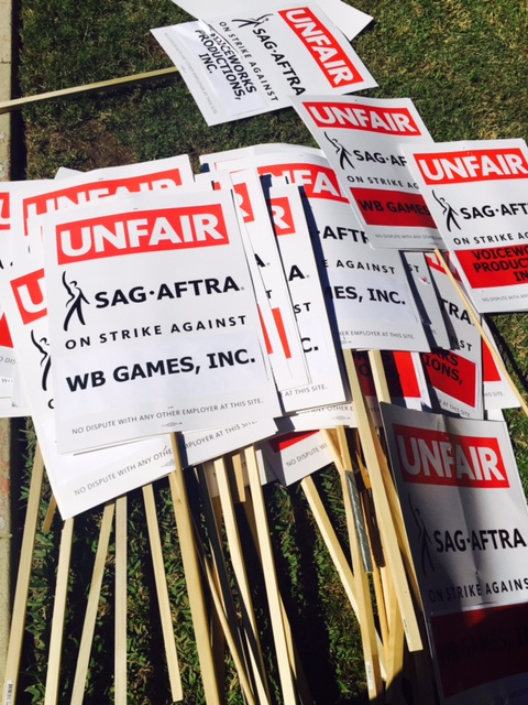 SAG-AFTRA video game strike merger anniversary video