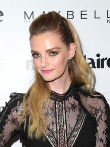 Mandatory Credit: Photo by MediaPunch/REX/Shutterstock (8626171be) Lydia Hearst-Shaw Marie Claire Celebrates 'Fresh Faces' with an Event Sponsored by Maybelline, Arrivals, Los Angeles, USA - 21 Apr 2017