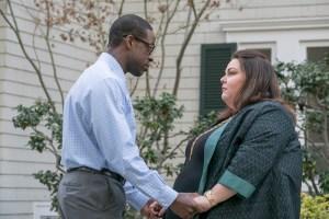 Sterling K. Brown as Randall, Chrissy Metz as Kate