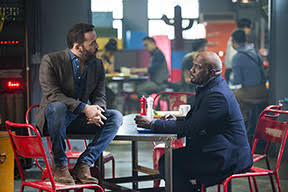 WISDOM OF THE CROWD stars Jeremy Piven (left) as Jeffrey Tanner, a visionary tech innovator who creates a cutting-edge crowdsourcing app to solve his daughter's murder, and revolutionize crime solving in the process. To assist him, Tanner recruits Det. Tommy Cavanaugh (Richard T. Jones), the original cop who investigated the murder but was unceremoniously forced off the case. WISDOM OF THE CROWD will be broadcast in the 2017-2018 season on the CBS Television Network. Photo: Diyah Pera/CBS ©2017 CBS Broadcasting, Inc. All Rights Reserved