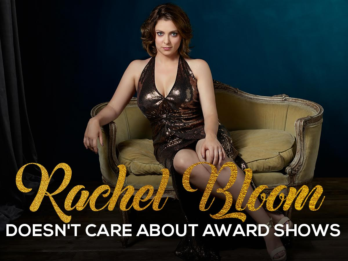 Crazy Ex-Girlfriends Rachel Bloom Skewers Red Carpet