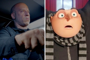 Fate Of The Furious Despicable Me 3