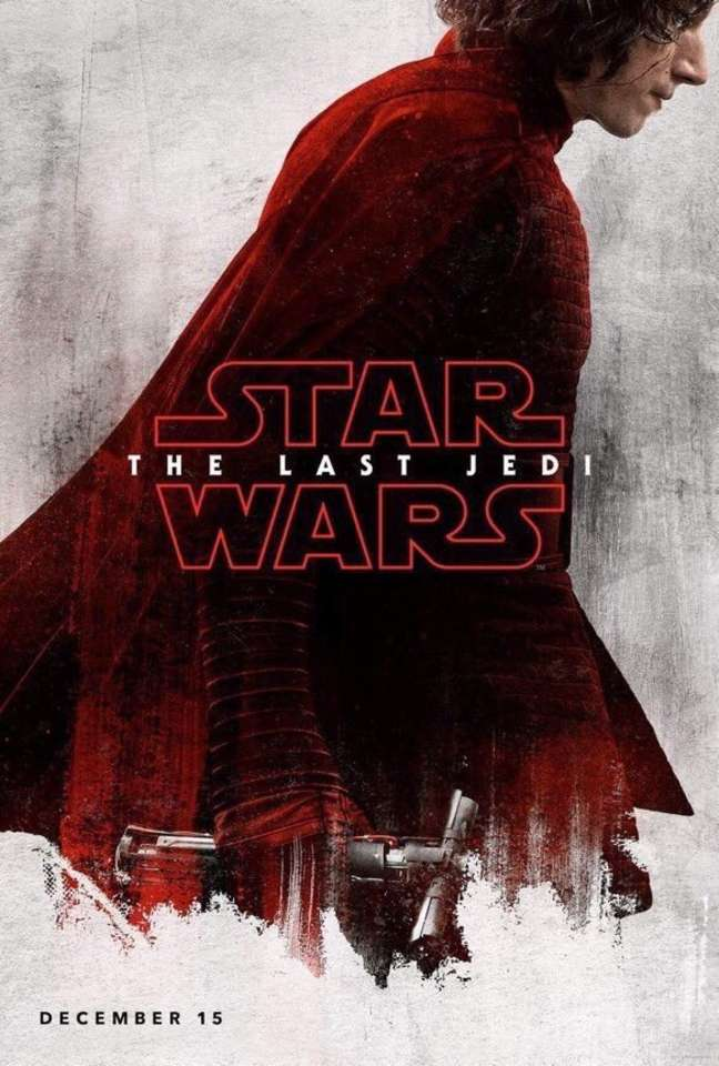 Star Wars The Last Jedi Character Posters Debut At D23 Deadline