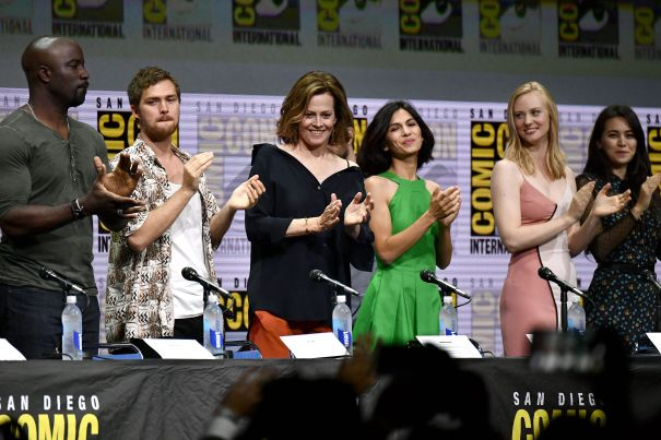 The Defenders Comic-Con
