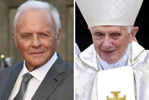 Anthony Hopkins Pope Benedict