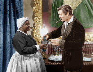 Hattie McDaniel and Clark Gable Gone With The Wind