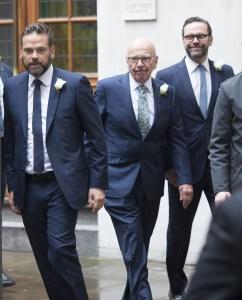 Lachlan Murdoch Rupert Murdoch James Murdoch