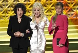 Lily Tomlin Dolly Parton Jane Fonda Emmys