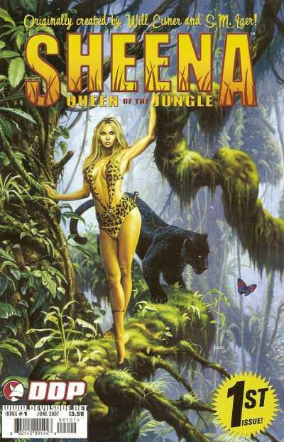 Sheena Queen of the Jungle comic book movie