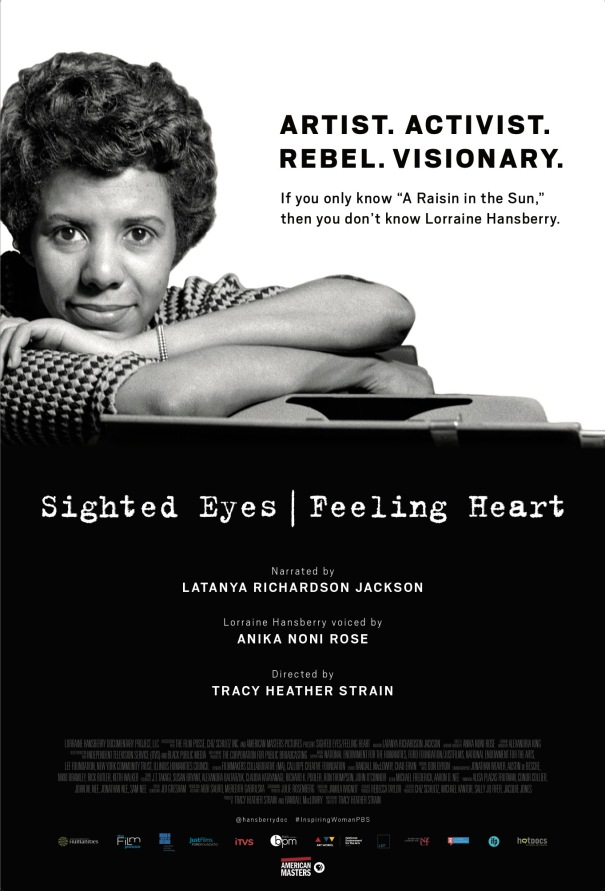 Sighted Eyes Feeling Heart Poster