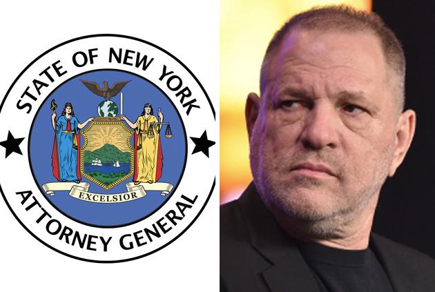 Harvey Weinstein New York Attorney General