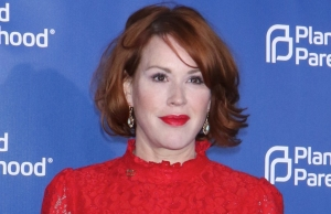 Mandatory Credit: Photo by Gregory Pace/REX/Shutterstock (8785468e) Molly Ringwald Planned Parenthood 100th Anniversary Gala, New York, USA - 02 May 2017