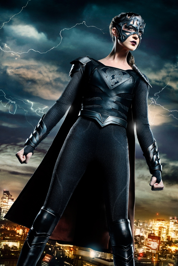 Odette Annable as Reign on Supergirl
