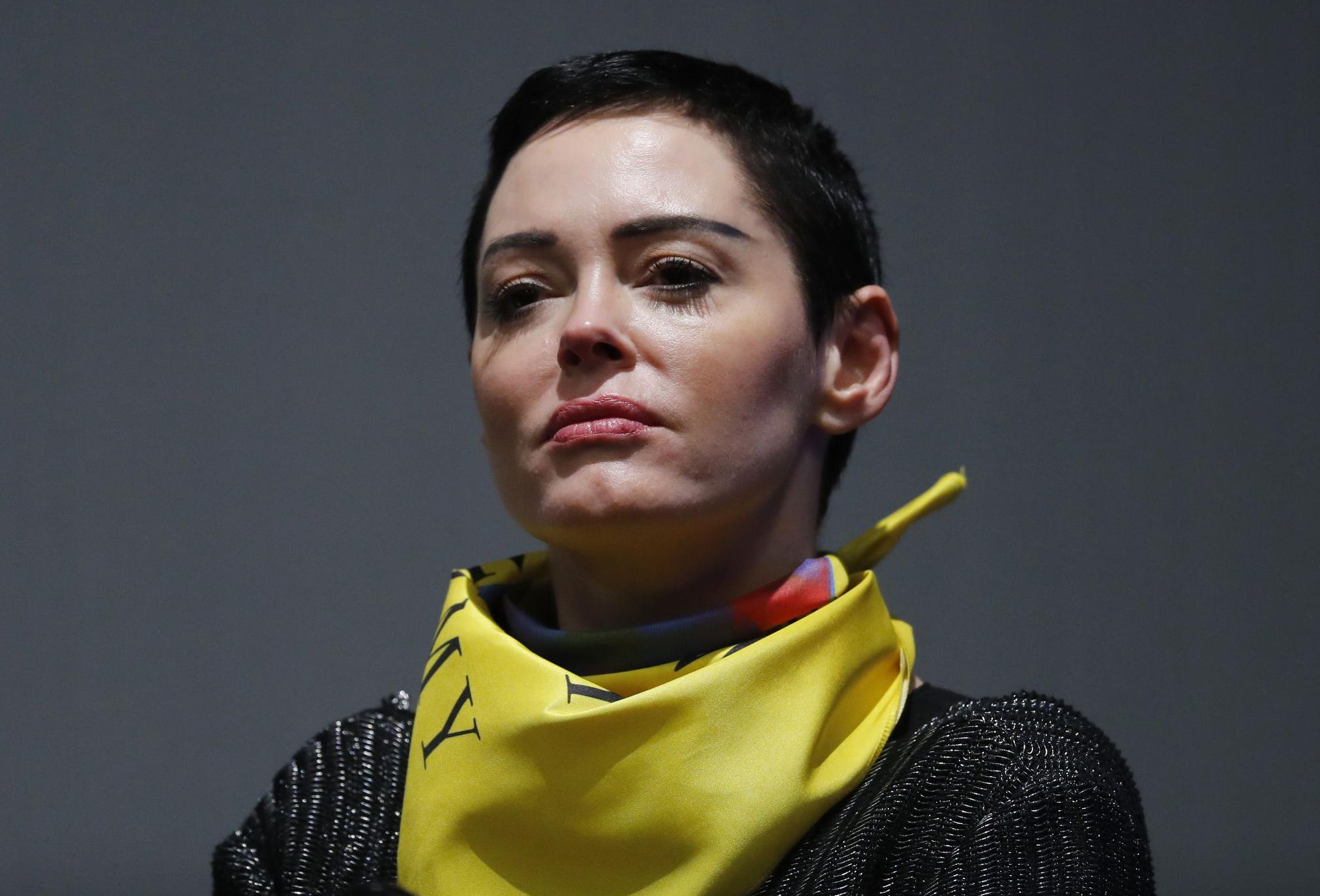 Rose Mcgowan Mugshot