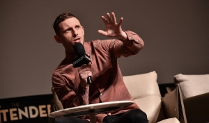 Jamie Bell, Sony Pictures Classics 'Film Stars Don't Die in Liverpool' panel, THE CONTENDERS 2017, Los Angeles, USA - 04 Nov 2017
