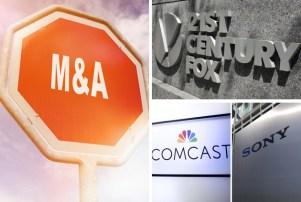Mergers 21st Century Fox Comcast Sony