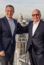 Bob Iger Rupert Murdoch