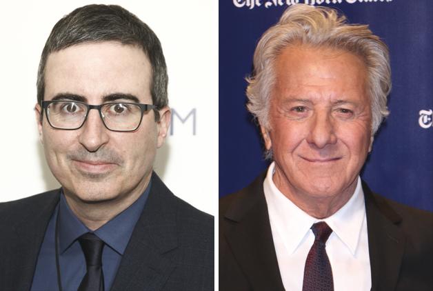 Dustin Hoffman Spars With John Oliver Over Harassment Claims Deadline