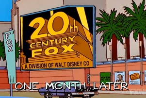 Simpsons 1998 Fox disney