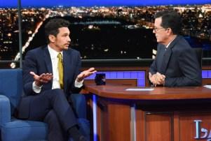 James Franco Stephen Colbert