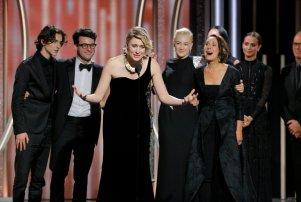 Greta Gerwig Golden Globes