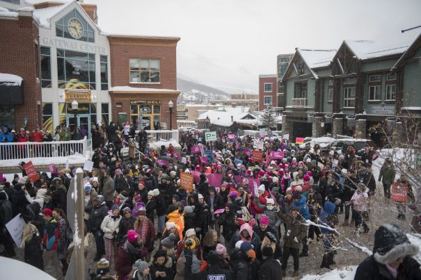 Sundance Women's March On Main